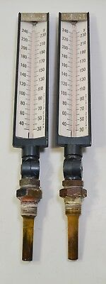 2 Terrace 30-240°F Industrial Thermometers