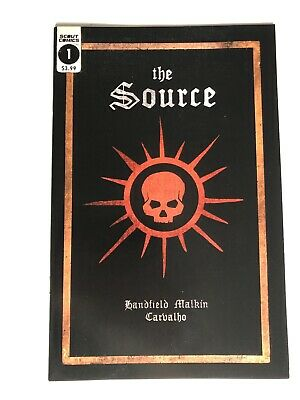 The Source #1 - Scout Comics - 2nd Print