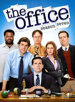 DVD: The Office: Season Seven, . Acceptable Cond.: Jenna Fischer, John Krasinski