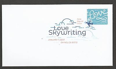 US 5155 Love Skywriting DCP FDC 2017