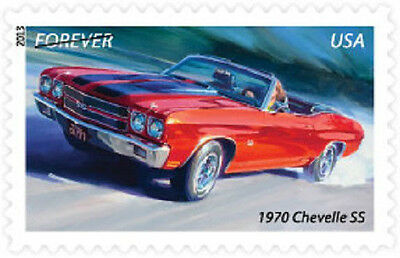 US 4746 Muscle Cars 1970 Chevelle SS forever single MNH 2013