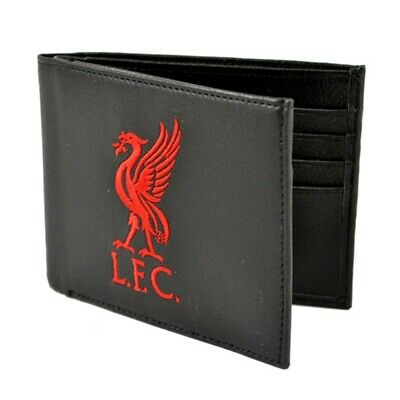 Liverpool F.c. Leather Wallet Lfc 7000 - Embroidered Football Club Team Fathers