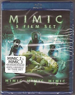 MIMIC 1, 2 & 3 - Blu-ray Film Movie Collection BRAND NEW