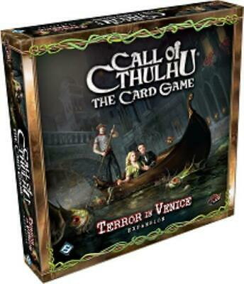 Fantasy Flight Games Call of Cthulhu CCG Terror in Venice Box SW