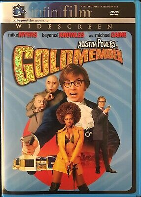 Austin Powers Goldmember 2002 DVD Mike Myers Beyonce Michael Caine widescreen