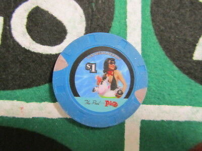 $1 The Pool @ THE PLAZA Casino Las Vegas Nevada + FREE Mystery Bonus Poker Chip