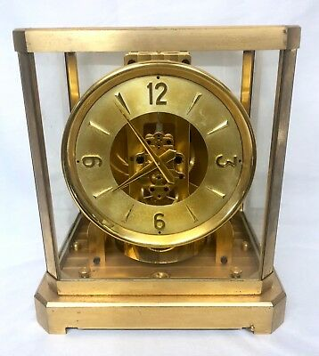 Atmos clock by Jaeger le Coultre 1940's / 1950's Serial No. 57844