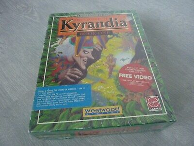 PC Game - The Legend of Kyrandia Book One - Westwood Virgin SEALED