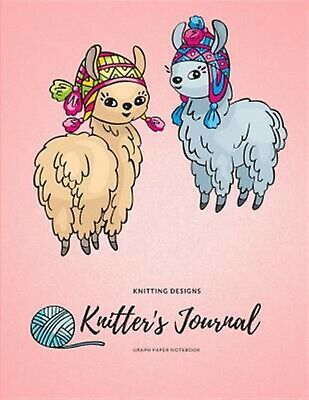 Knitting Designs Knitter's Journal Knitters Graph Paper Noteboo by Publishing Ad