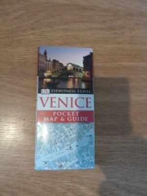 DK Eyewitness Travel Venice Pocket Map And Pocket Guide. Used In A Good Clean Co