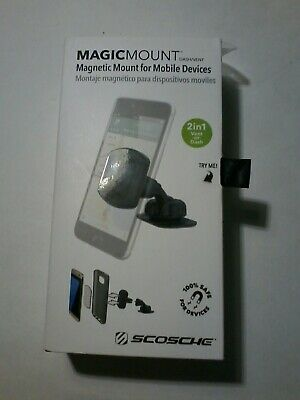 48b71a578b4f4 SCOSCHE MAGDMB MagicMount Universal Magnetic Phone GPS Mount for the Car  Home