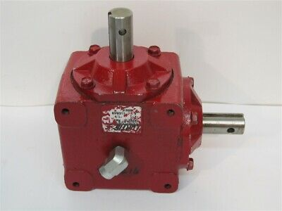 """Curtis 929216, Right Angle Gearbox, 1:1 Ratio, 1"""" Shaft"""