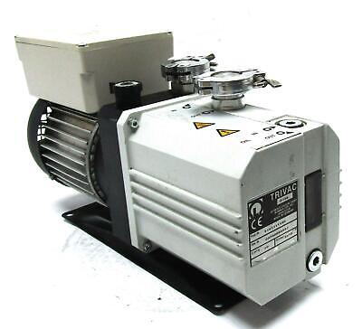 Trivac D10E Oil Sealed Vacuum Pump | 10 m3/h Pumping Speed | KF 16 Inlet Flange