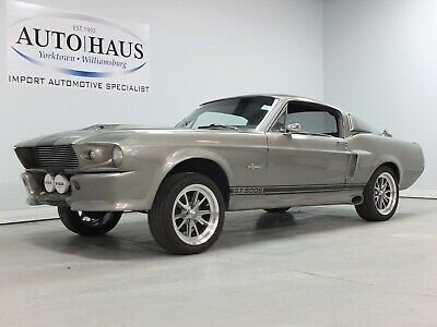 1968 Ford Mustang Eleanor Project 1968 FORD MUSTANG - ELEANOR REPLICA PROJECT (GT500 FASTBACK)