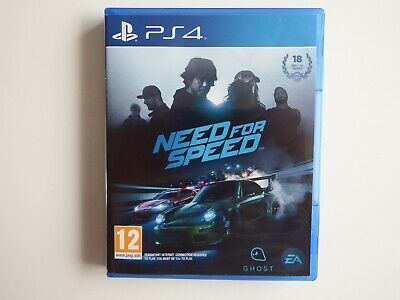Need for Speed for PS4 in NEAR MINT CONDITION