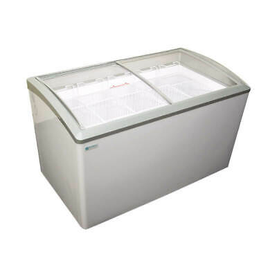 NEW 7 Basket Glass Top Ice Cream Chest Display Freezer Excellence VB-7L #9698