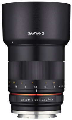 Samyang 85mm F1.8 Csc Système Compact Objectif: Sony E-Mount