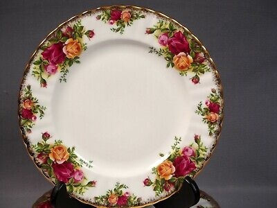Royal Albert Old Country Roses Luncheon Salad Plate/s Fine China Made in England