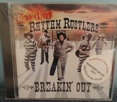 New Sealed CD The Red Hot Rhythm Rustlers Breakin' Out small crack on back