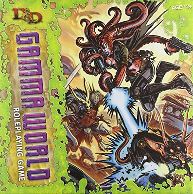 D&d Gamma World Roleplaying Game: A D&D Genre Setting (4th Edition D&d) (Dungeon