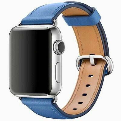 Mint Condition Apple Watch Sea Blue Classic Buckle for Apple Watch 42mm or 44mm