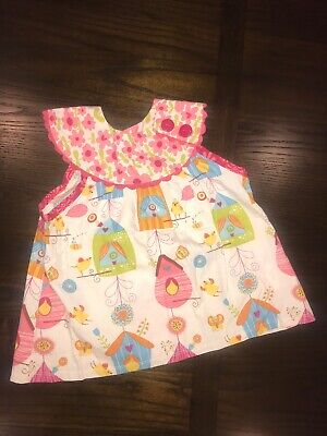 NWOT girls toddler Jelly The Pug iris collection adriana dress top size 3T Baby