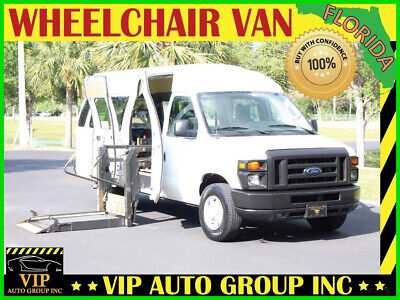 2010 Ford E-Series Van Recreational 2010 Ford E-250 Handicap Wheelchair Van Mobility Side Power Ramp Ambulance Lift