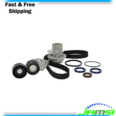 Timing Belt Kit w/ Water Pump for 1999-2002 Daewoo Lanos 1.6L DOHC L4 16V 98cid