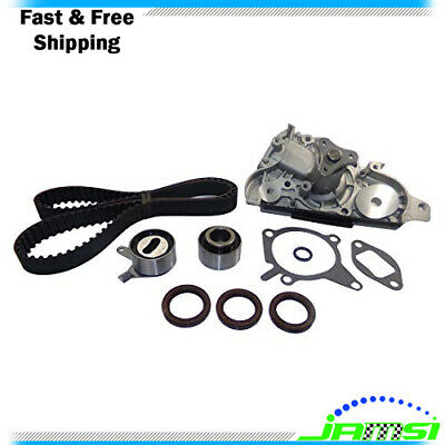 Timing Belt Kit w/ Water Pump for 99-01 Mazda Protege 1.6L DOHC L4 16V 1589cc