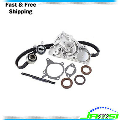 Timing Belt Kit w/ Water Pump for 01-05 Kia Rio 1.5L 1.6L DOHC L4 16V