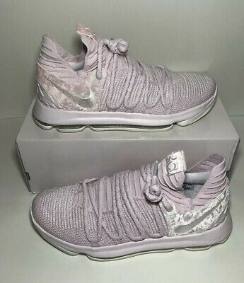 low priced 9b593 e1fa8 NIKE KD 10 X AP Aunt Pearl Kevin Durant ASG Pink AQ4110 600 NEW Men's Size  10.5