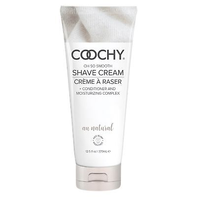 COOCHY Shave Cream - Au Natural - 12.5 fl oz (370 ml)