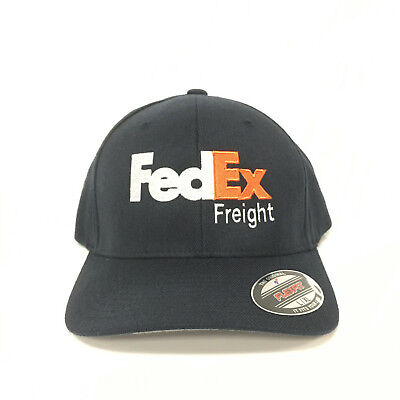 FedEx Ground Hat Purple Orange Yupoong Classic Custom Embroidery Snapback Cap