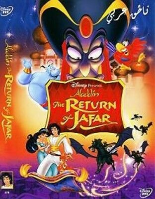Arabic cartoon dvd the return for jafar ALADDIN RETURN OF JAFFAR ENGLISH SUBTITL