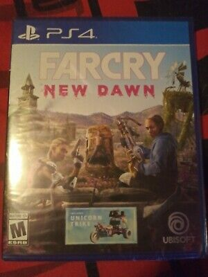 Far Cry: New Dawn PS4 (Playstation 4, 2019)- BRAND NEW/SEALED, FAST SHIPPING!