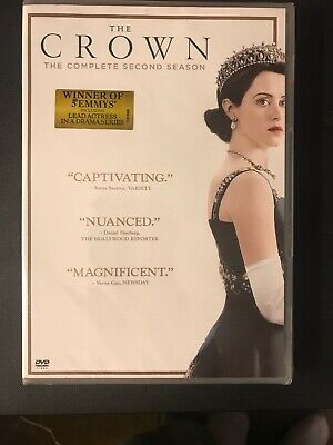 The Crown: Complete Second Season 2 (DVD, 2018, 4-Disc Set) New Sealed