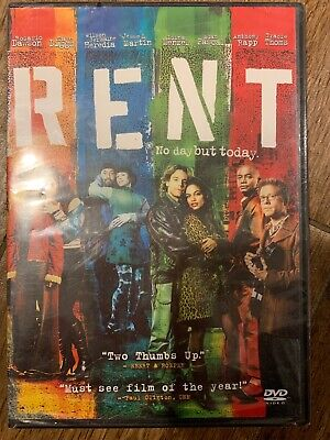 Rent (DVD, 2006, 2-Disc Set, Special Edition Widescreen) Brand New