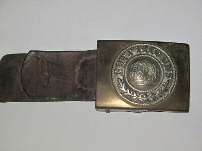 A German field trouper WW1 Belt Buckle from the great World war WW1.