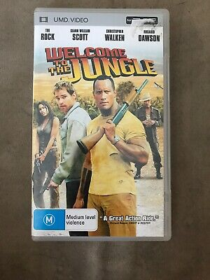 Welcome Go The Jungle UMD Video For PSP