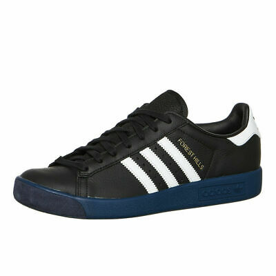 Adidas Originals Forest Hills Black Leather Trainers UK 11 **Brand New In Box**
