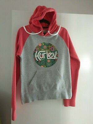 Womans gorgeous HURLEY hoodie jumper size 10
