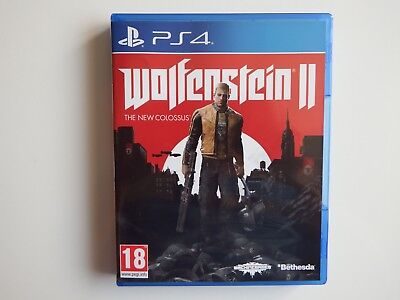 Wolfenstein II: The New Colossus for PS4 in MINT Condition