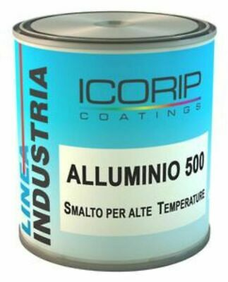 2,5 Lt Enamel Aluminium Diamond 500 Synthetic for High Heat Iron