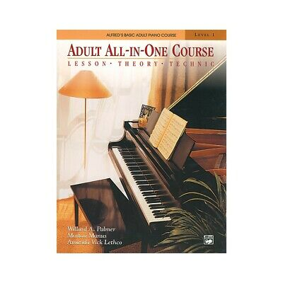 Alfred's Basic Adult All-in-One Course Book 1