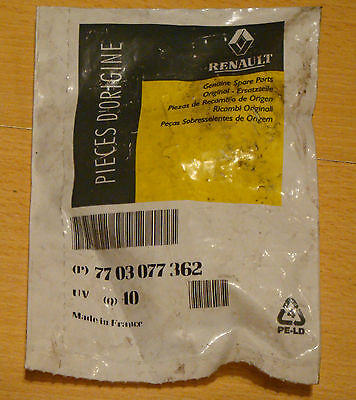 Genuine Renault 7703077365 clips cl (x6)