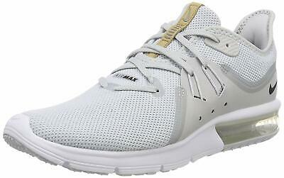 e69bd33abab NIKE AIR MAX Sequent 3 III Pure Platinum White Men Running Shoes ...
