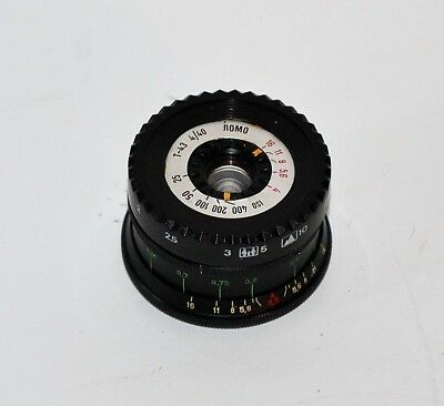 HAND MADE M42 mount USSR BLACK LOMO T-43 f4/40 LENS from SMENA-35 (2)