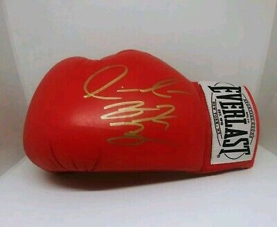 Deontay Wilder Hand Signed Boxing Glove With Coa