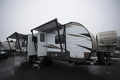 Wildwood 27REI Travel Trailer Rear Living RV Camper Perfect Hunting Cabin
