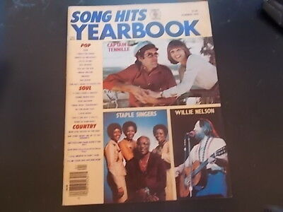 Captain & Tennille, Wings - Song Hits Yearbook Magazine 1976